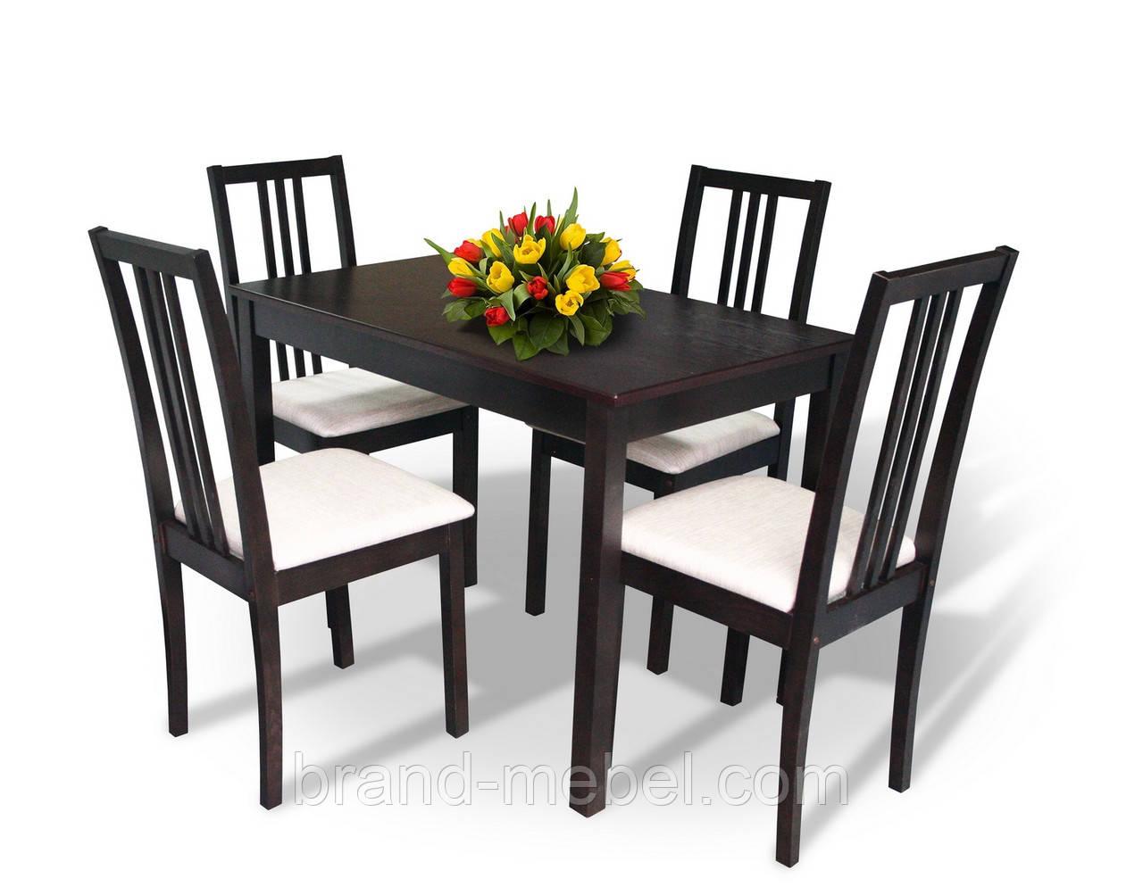 Комплект Оптим (стол+4 стула)