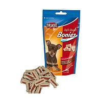 "TRIXIE 31491 Мягкие снеки для мелких собак, щенков ""Bonies"" (говядина + индейка), 75 г"