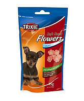 Лакомство для мелких собак,щенков с птицей и бараниной Trixie Soft Snack Flowers (Трикси Фловерс) 75 г