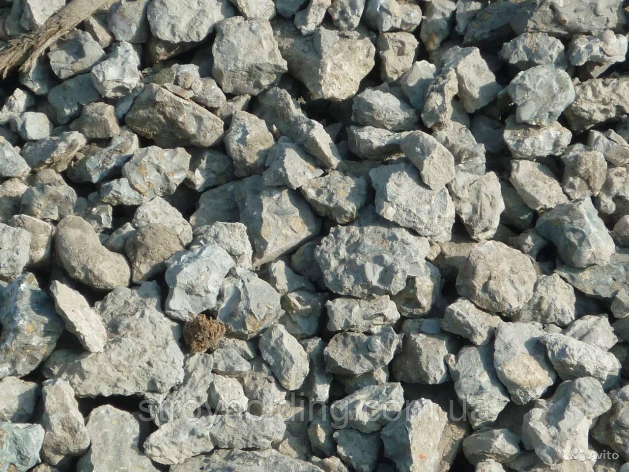 Дробленый бетон, щебень из бетона, вторичный щебень, щебеночная смесь (Одесса)