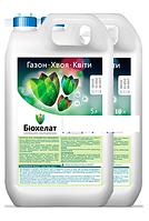 Биохелат Газон, хвоя, цветы, канистра 5 л