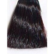 5.67 - Светлый коричневый красный фиолетовый Indola Permanent Аммиачная крем-краска для волос 60 мл.
