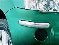 Накладка на перед +зад Nissan X-Trail  2001-2007