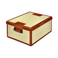 Короб органайзер с разделителем из картона Италия