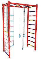 Детский спортивный комплекс П-шка металический (с навесным оборудованием), ширина лестницы 65 см 202/мп DALI