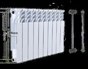 Биметаллический секционный радиатор Heat Line 500/96