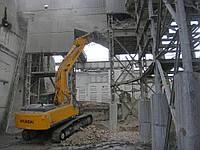 Снос ветхих и аварийный зданий в Одессе