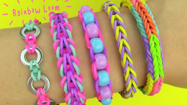 Резинки для плетения браслетов по 200шт