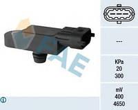 Датчик (вакуума) давления во впускном газопроводе FAE, 15068 Logan/Duster/Sandero 1.5DCI