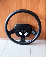 Колесо рулевое (руль) УАЗ-452,469 (31512) (на 3 спицы-люкс) (производство Ульяновск)