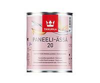 Лак акриловый TIKKURILA PANEELI-ÄSSÄ 20 панельный, полуматовый, 0,9л