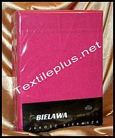 Простынь на резинке махровая розовая - Польша, фото 1