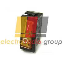 Переключатель KCD3-102/N  ON-OFF (3pin) желт.10А;250  Daier