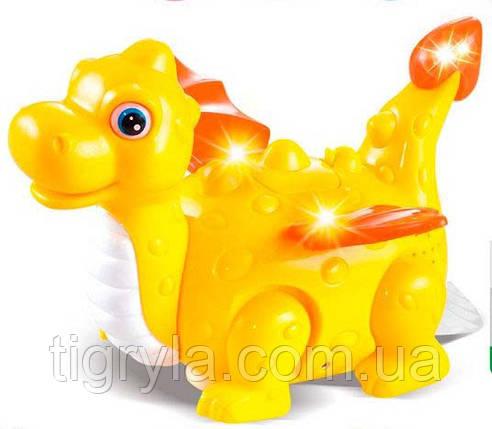 """Музыкальная развивающая игрушка """"Динозавр"""", фото 2"""
