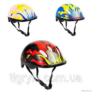 Шлем детский для катания на велосипеде, роликах, самокате - защита для головы
