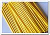 Желтые палочки для кейк попсов 50 шт