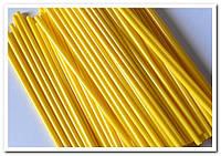 Желтые палочки для кейк попсов 50 шт, фото 1