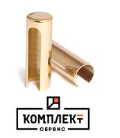 Ковпачок 3D/14мм STV SC14 алюмiнiй, колiр - золото полированное
