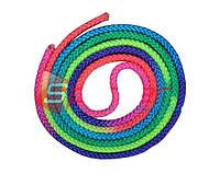 Скакалка гимнастическая радуга 3м