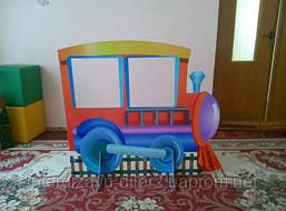 Напольные декорации из МДФ