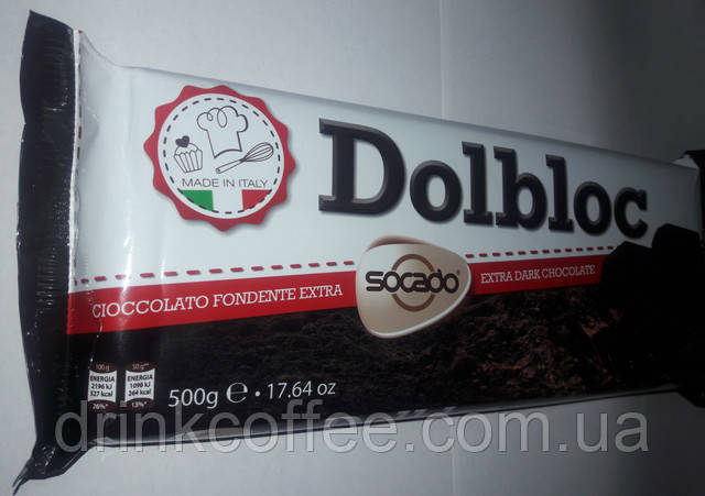 Шоколад Socado Dolbloc, Италия!