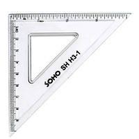 Кутник 10 см, пластиковий SH H3-1