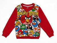 Теплая кофта Angry Birds для мальчика. 120, 130, 160 см