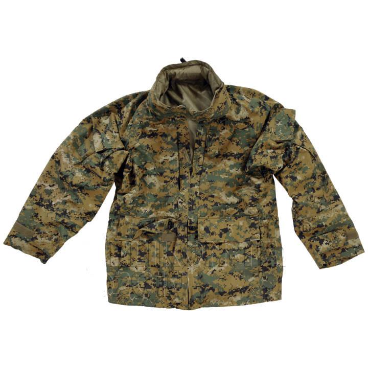 Куртка Helikon APECS USMC H₂O PROOF - Digital Woodland