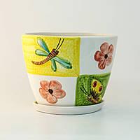 Горшок керамический для пересадки цветов P184