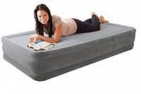 Односпальная кровать Intex 67766 (99 х 191 х 33 см) с электро-насосом