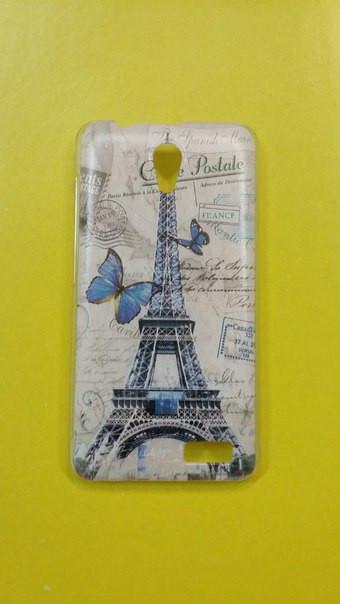 Чехол для lenovo a319 панель накладка с рисунком башня
