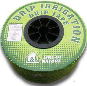 Капельная лента drip tape L&N 30 см 250 м 8 mill