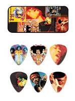 Dunlop JHPT08H Набор медиаторов Jimi Hendrix Montage Heavy