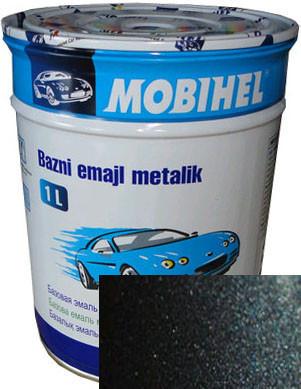 Автокраска металлик 498 Лазурно-синяя HELIOS(Mobihel) BC 1л.