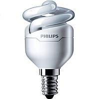 Лампа энергосберегающая Philips E14 12W 220-240V WW 1CT / 12 TornadoT2 8y (929689381502) DDP