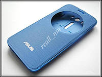 Синий чехол View Flip Cover для смартфона Asus ZenFone 2 Laser ZE500KL ZE500KG, фото 1