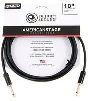Planet Waves PWAMSG10 Инструментальный кабель American Stage