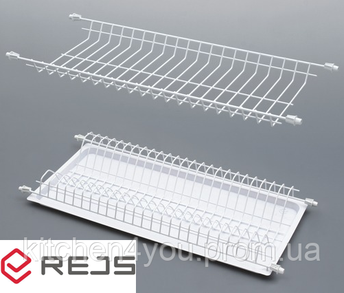 Сушка белая Rejs Standart 1 в секцию 700 мм. без рамки