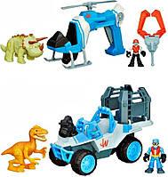 Набор: динозавр и транспортное средство (в ассорт.)  B0534