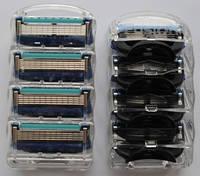 Лезвия Бритвы Кассеты для Станка Gillette Fusion Proglide-4 без упаковки