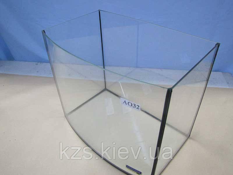 Аквариум овальный (объем 40л.) 500х300х300мм