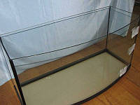 Аквариум овальный (объем 110л.) 800х350х450мм