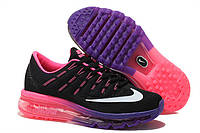Женские кроссовки Nike Air Max 2016 Black/Pink/Purple