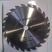 Пильный диск BOSCH Optiline ECO 190x20/16x24