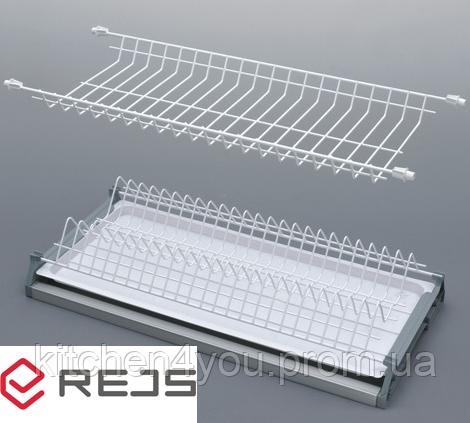 Сушка белая Rejs Variant 1 в секцию 700 мм. с алюминиевой рамкой