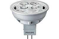 Светодиодная LED лампа Philips Essential LED 4.2-35W 6500K MR16 24D GU5.3