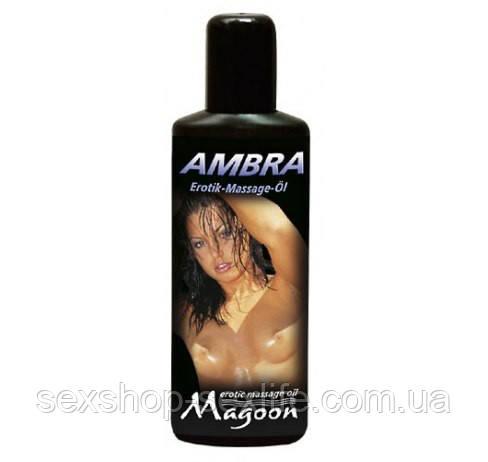 Масло для эротического массажа MAGGON AMBRA 100 мл