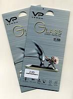 Закаленное стекло для мобильного телефона Sony E4 c закругленными краями  VERON (2.5D)