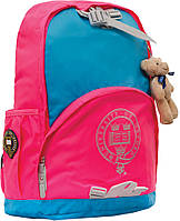 "Рюкзак подростковый Х225 ""Oxford"", голубо-розовый 552856"