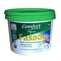 Краска фасадная Comfort латексная водно-дисперсионная 1,4 кг
